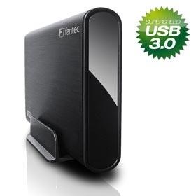 8,9cm S-ATA FANTEC DB-ALU3 schwarz USB3.0