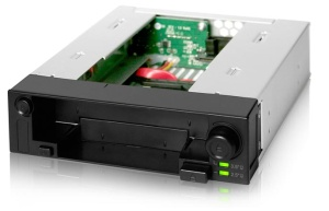 ICY DOCK MB971SP-B DuoSwap 2.5/3.5 SATA Hot Swap