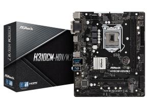 ASRock H310CM-HDV/M.2, Intel H310 Chipsatz, µATX