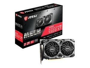 MSI Radeon RX 5500 XT Mech 4G OC, 4GB GDDR6,