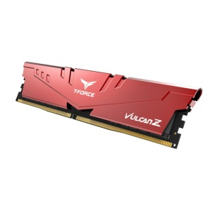16GB DDR4-RAM, 3200 MHz, TeamGroup T-Force Vulcan Z rot,