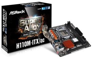 Asrock H110M-ITX/ac, Intel H110 Chipsatz, Mini-ITX