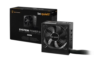 Be Quiet System Power 9 CM, 500 Watt, 80+, ATX 2.51