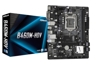 ASRock B460M-HDV, Intel B460 Chipsatz, µATX