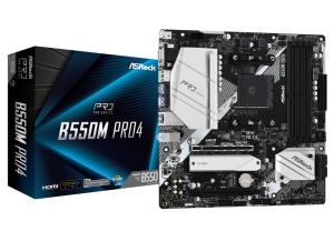 ASRock B550M Pro4, AM4, AMD B550, µATX