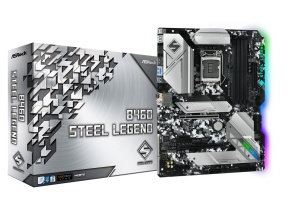 ASRock B460 Steel Legend  Intel B460 Chipsatz, ATX