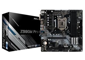 Asrock Z390M Pro4, Intel Z390 Chipsatz, ATX