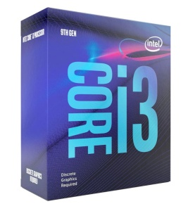 Intel Core i3-9100F, 4x 3600 MHz, Coffee Lake, boxed