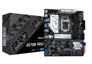 ASRock H570M Pro4, Intel H570 Chipsatz, µATX