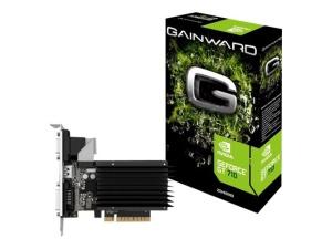 Gainward GeForce GT 710 SilentFX, 2GB DDR3,