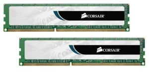 16 GB Kit DDR3-RAM Corsair Value Select, 1600 MHz, PC3-12800