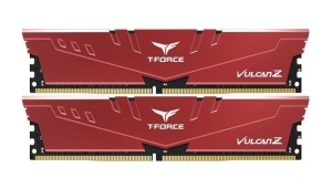 16GB Kit DDR4-RAM, 3600 MHz, TeamGroup T-Force Vulcan Z rot