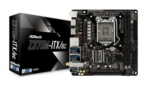Asrock Z370M-ITX/ac, Intel Z370 Chipsatz, Mini-ITX