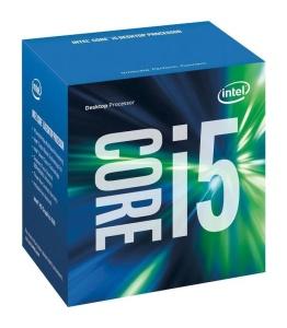 Intel Core i5-6400, 4 x 2700 MHz, Skylake, boxed
