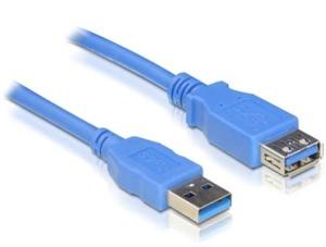 Delock USB-Kabel 3.0, USB3.0 A Verlängerung 2,0 m St/Bu
