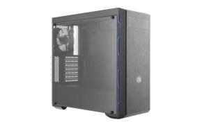 Cooler Master MasterBox MB600L, Acrylfenster, schwarz/blau