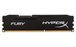 8 GB DDR3-RAM, 1600 MHz, Kingston HyperX Fury, black,