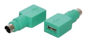 Adapter USB A Buchse/ 6 pol Mini DIN Stecker