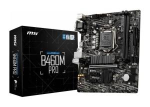 MSI B460M Pro, Intel B460 Chipsatz, µATX