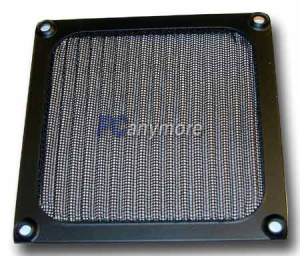 Cooltek Lüftergitter 92 mm mit Filter schwarz