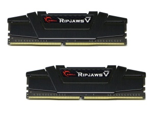 8GB Kit DDR4-RAM, 3200 MHz, G.Skill RipJaws V schwarz,