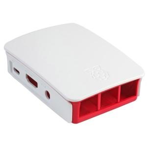 Raspberry PI Original Gehäuse für Raspberry 3 himbeer/weiß