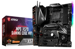 MSI MPG X570 Gaming Edge WIFI, AM4, AMD X570, ATX