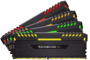 32GB Kit DDR4-RAM, 3000 MHz, Corsair Vengeance RGB