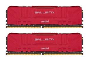 16GB Kit DDR4-RAM, 3600 MHz, Crucial Ballistix rot